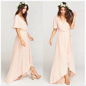 Show Me Your Mumu Sophia wrap dress, XS